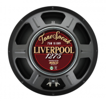 "A 12"" guitar speaker—75W, 16 Ohm—from ToneSpeak - Liverpool 1275."