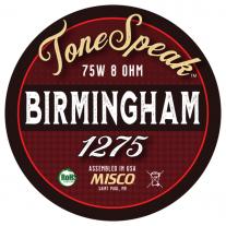 Birmingham 1275 Speaker Impulse Response