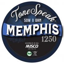 Memphis 1250 Speaker Impulse Response
