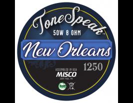 New Orleans 1250 Speaker Impulse Response
